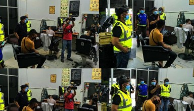 Malaysian Police have arrested thirteen men for defying MCO