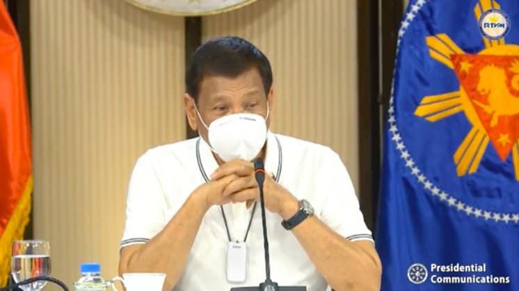 Philippines President Rodrigo Duterte increase Covid19 vaccine