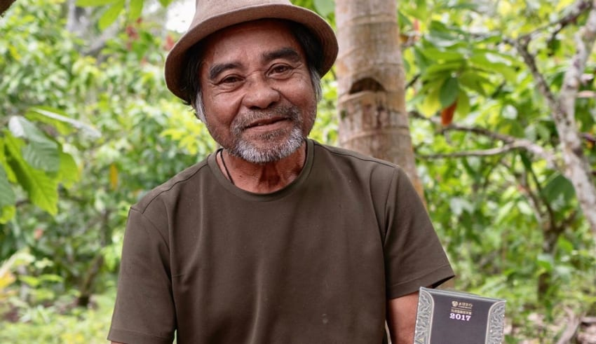 Pinoy Farmer Jose Saguban won International Cocoa Awards