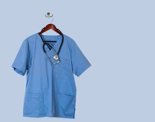 """Healthcare workers wearing scrubs while buying groceries, accused of """"spreading the virus"""""""
