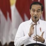 "President Joko ""Jokowi"" Widodo in Press Conference"
