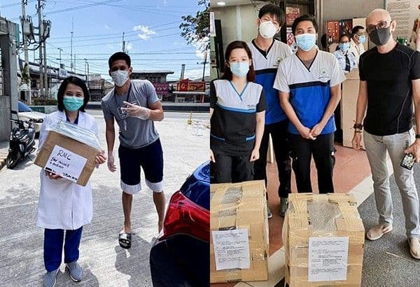 OHLC volunteers delivers PPEs to Medical centre