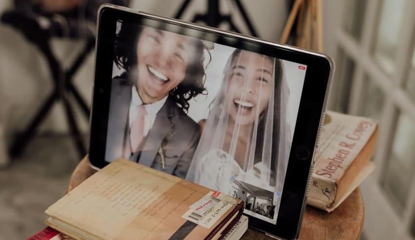 Online Marriage through ZOOM app