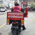 Pertamina launched a fuel and LPG canister delivery service