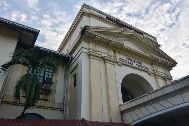 Philippine General Hospital in Manila