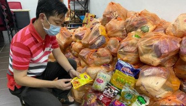 RM35 food packs provided by NGO
