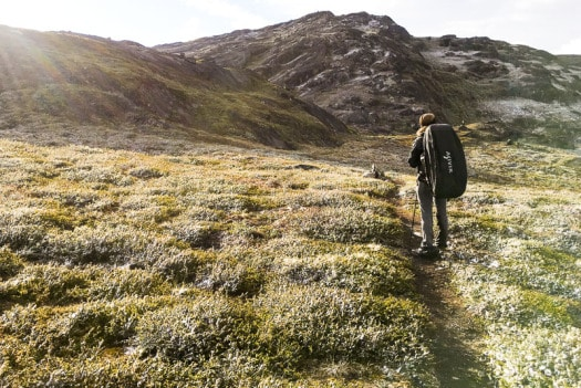 Trekker walked across Arctic Circle Trail