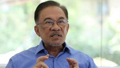 Anwar he was frustrated not being able to become PM