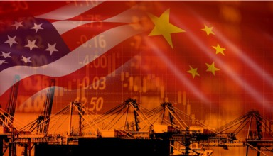 USA and China trade war economy conflict tax business finance money