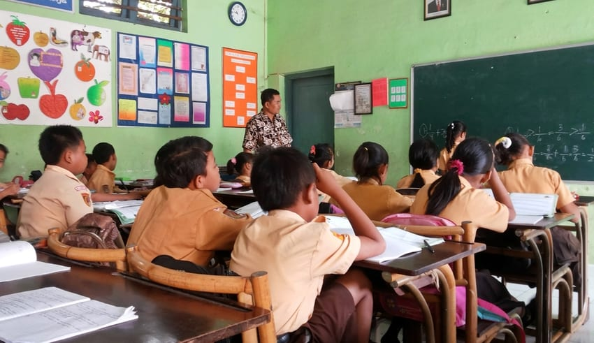 Indonesia decide to open a school