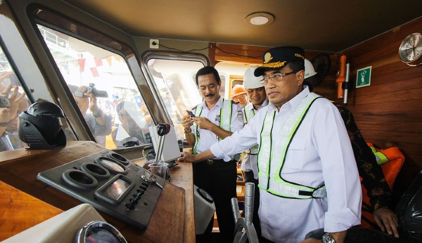 Indonesia Minister of Transportation resume all transportation modes