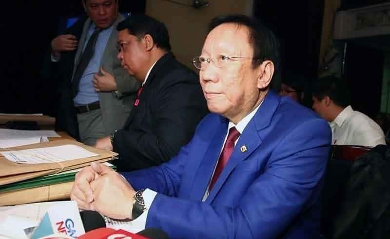 Solicitor General Jose Calida again declined to attend the House of Representatives