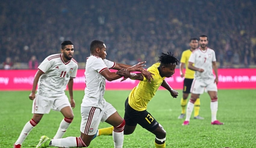 Group G qualifier against UAE in Bukit Jalil