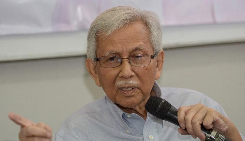eteran statesman Tun Daim Zainuddin supported Tun Dr Mahathir