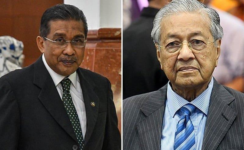 Takiyuddin Hassan hit and Dr. Mahathir Mohamad
