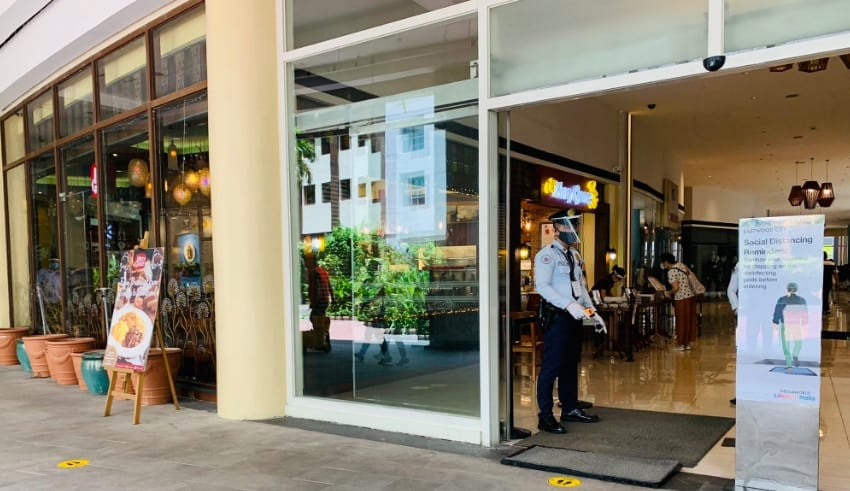 As some non-leisure shops are now allowed to reopen in Manila