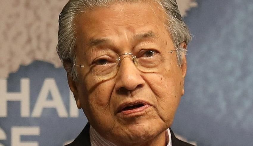 Veteran Malaysian leader Tun Dr Mahathir Mohamad