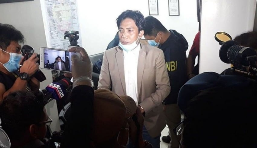 Francis Leo Marcos was nabbed by NBI