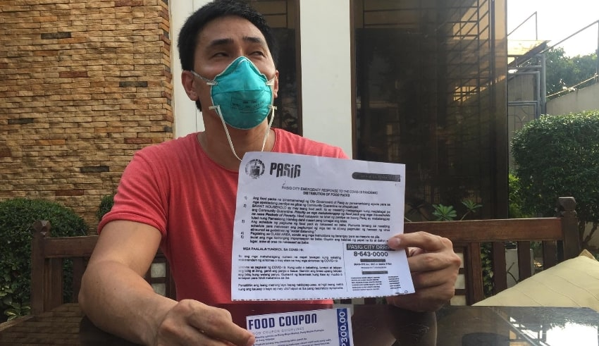 Former PBA player Roger Yap denied allegations made by Pasig City Mayor