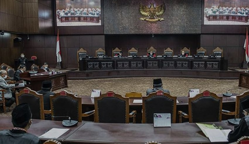 Constitutional Court (MK) held a further session of the Government Regulation