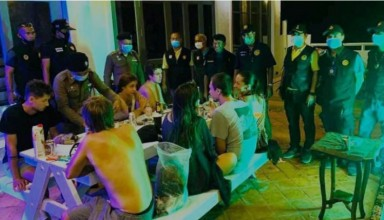 7 Russian Tourists arrested in Koh Phangan