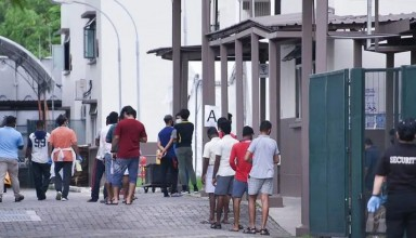 Singapore people roamed without Social Distancing