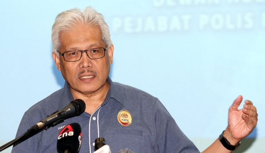 Home Minister Hamzah Zainudin said government does not accept the refugee status of any group