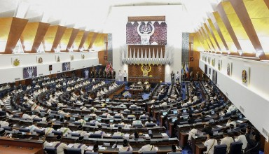 Malaysia's Parliament convened for only one day on May 1