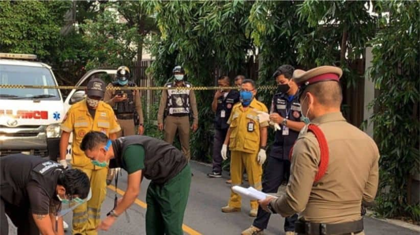 77-year-old Thai woman fall to her death from a Bangkok condominium