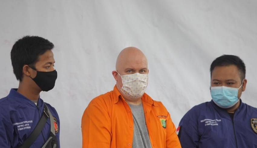 American fugitive arrested in Indonesia