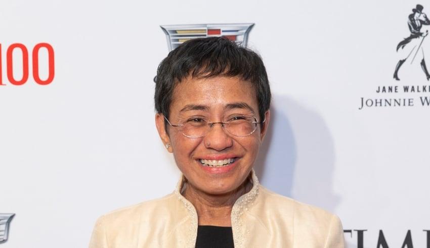Maria Ressa at the TIME 100 Gala 2019