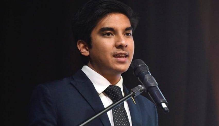Former youth & sports minister Syed Saddiq