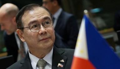 Foreign Affairs Secretary Teodoro Locsin Jr