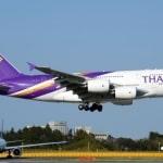 Thai Airways airport took off at thailand airport