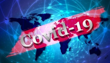Covid19 spreads all over the world concept