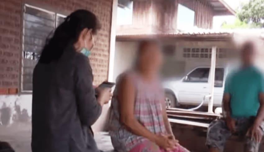 Pregnant child parents in northeastern Thailand