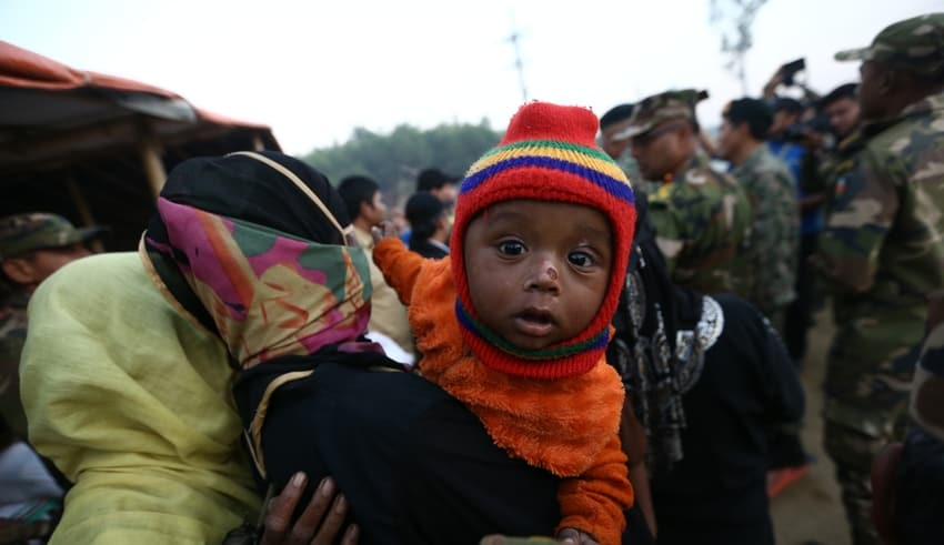Ronghiya refugees