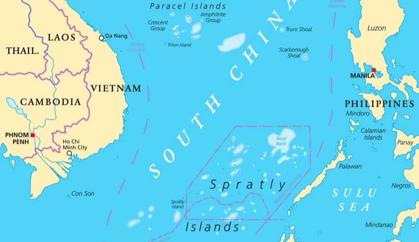 Vietnam Philippine China disputes