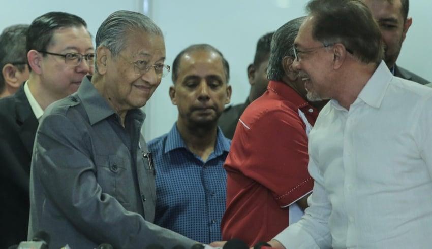 Mahathir Mohamad Anwar Ibrahim