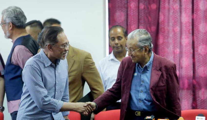 Anwar Ibrahim Mahathir Mohamad