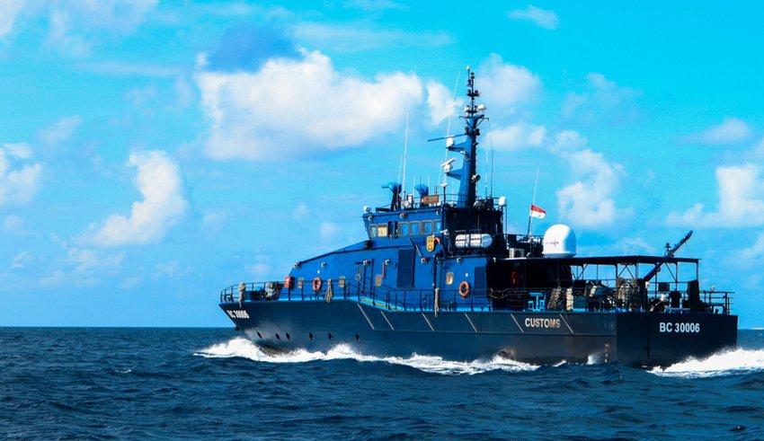 Indoneisa patrol boat