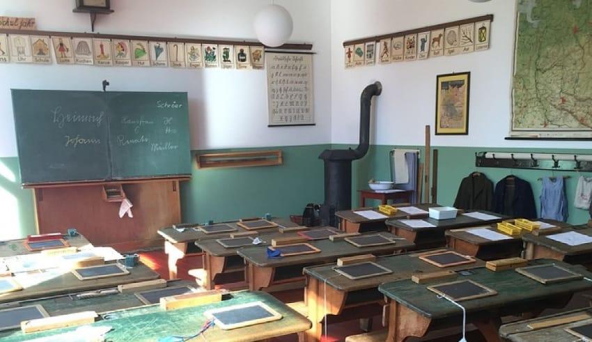 School class rooms setup