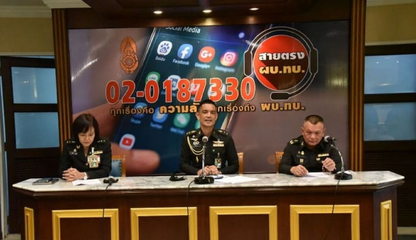 Thai Army spokesman in Thailand has denied reports
