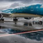 international commercial flights