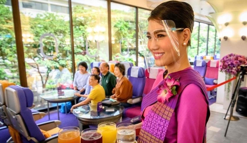 Thailand's plane cafes