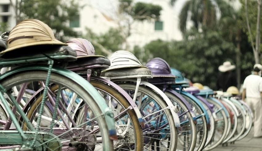 road bikes or racing bicycles