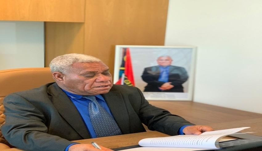 The Prime Minister of Vanuatu, Bob Loughman