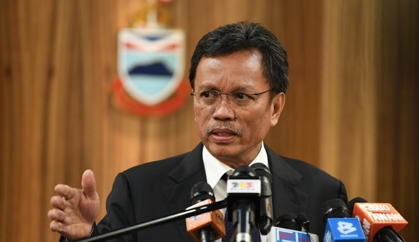 CM Datuk Seri Panglima Mohd Shafie Apdal Sabah