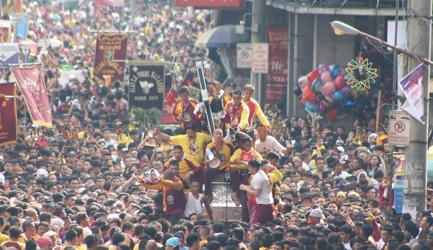 'Black Nazarene' procession