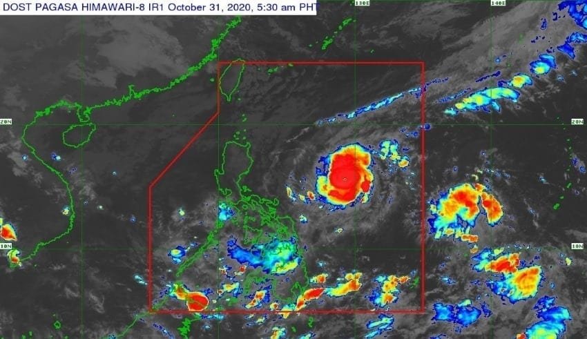 Typhoon to bring intense rain towards the Philippine